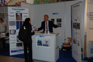 PowderPro AB stand C9 at ECerS 2011 in Stockholm